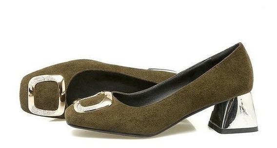 Sapato Feminino Asumer 00010 Importado Frete Grátis