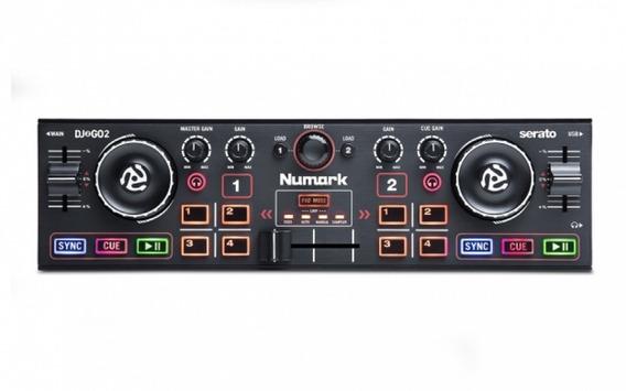 Numark Dj2go2 Pocket Controlador Dj Com Interface De Áudio