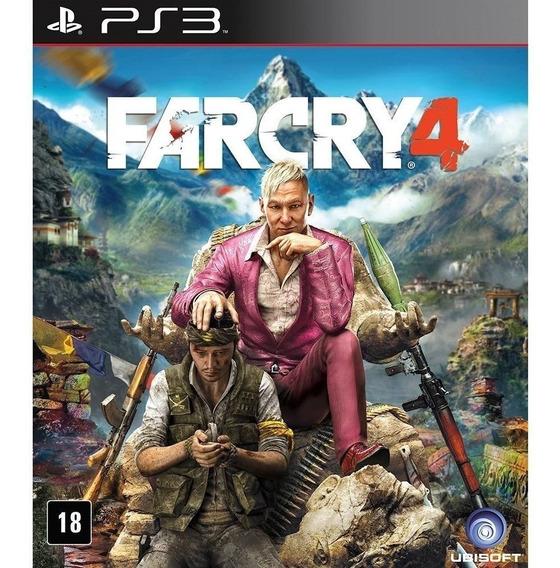Farcry 4 Ps3 Dublado Psn Jogo Comprar
