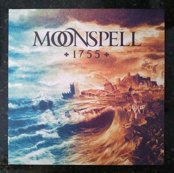 Lp Moonspell 1755 Blue Light Edição Exclusiva Da Banda Novo