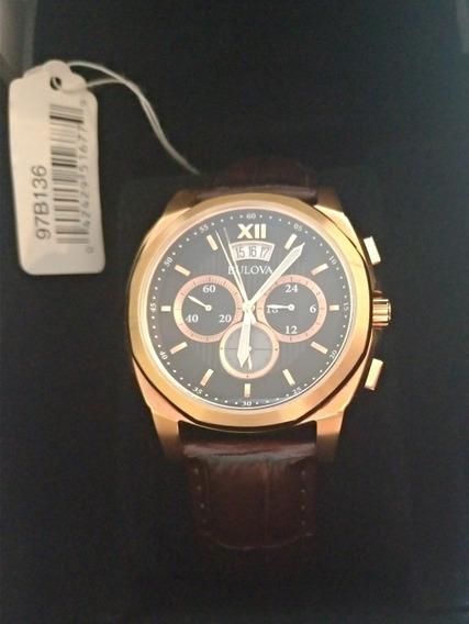 Relógio Bulova 97b136 Crono Na Caixa
