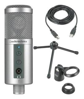 Micrófono Condensador Audio-technica Atr-2500-usb