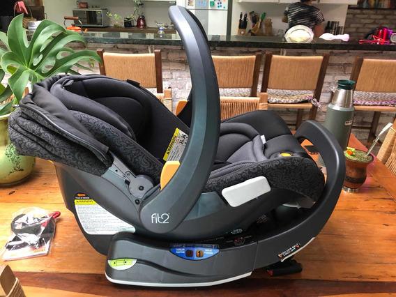 Bebê Conforto Chicco Fit2 Car Seat & Base Fleur. Impecável.