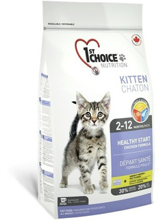 1st Choice Alimento Gato Cachorro 901 Gr Pollo Importado