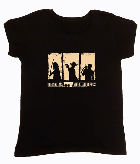 Remera The Walking Dead Negra 1 Hotarucolections