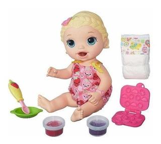 Baby Alive Lili Lily Hora De Comer C2697 Muñeca Super Snacks