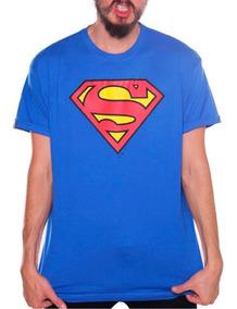 Playera Superman Azul Rey Envio Gratis