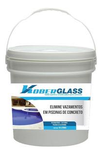 Koberglass 10kg Solda Quimica Impermeabilizante De Piscinas