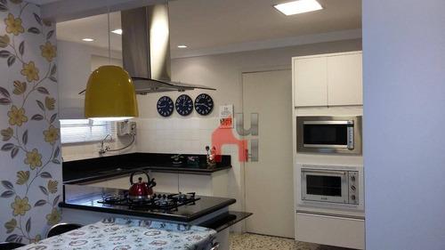 Apartamento À Venda, 95 M² Por R$ 410.000,00 - Taboão - São Bernardo Do Campo/sp - Ap0258