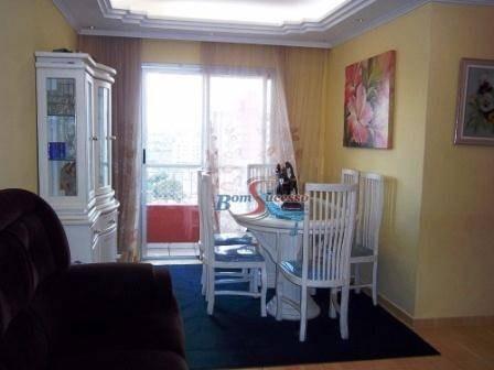 Imagem 1 de 26 de Apartamento Com 3 Dormitórios À Venda, 80 M² Por R$ 550.000,00 - Tatuapé - São Paulo/sp - Ap2178