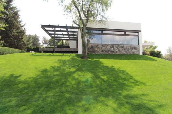 Club De Golf Los Encinos, Lerma Terreno-casa En Venta
