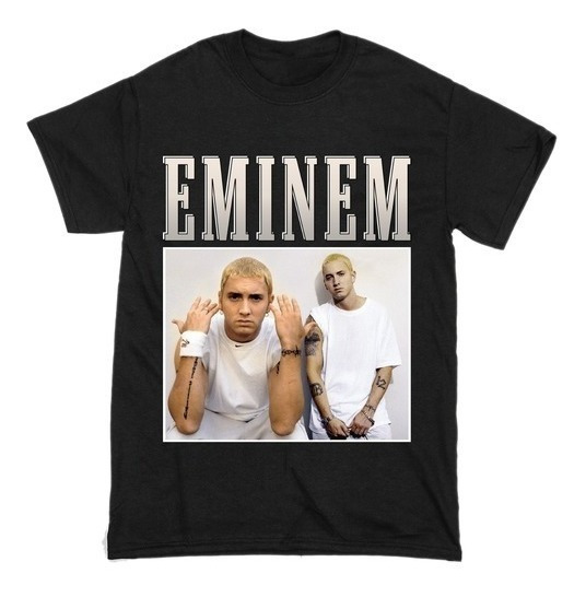 Remera Eminem, Rap, Hip Hop, Trap, Bandas, Rock, Musica