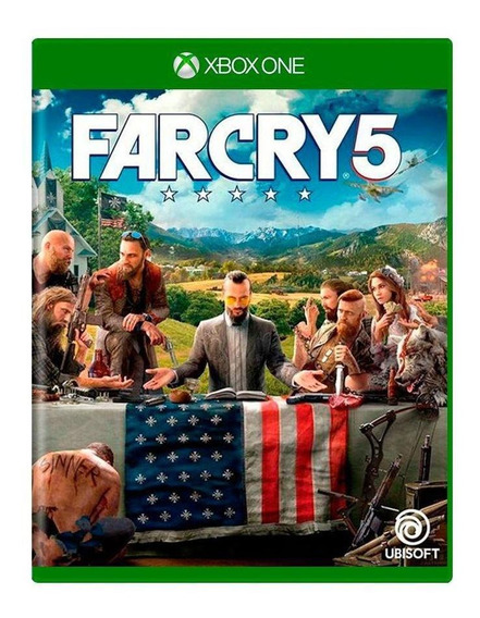 Far Cry 5 Xbox One Mídia Física Pronta Entrega