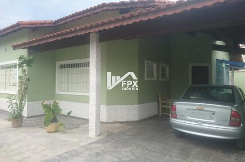 Casa No Belas Artes Lado Praia Em Itanhaém - Ca307-f