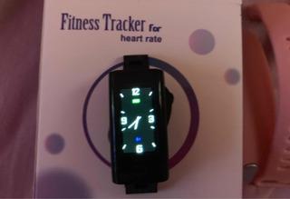 Relógio Inteligente Fitness Rosa