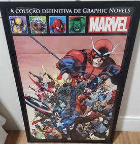 Quadro Coleção Graphic Novel Marvel (enquadrado)