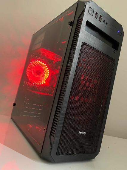 Pc Gamer Intel I3 7100, Gtx 1050, 8gb Ddr4