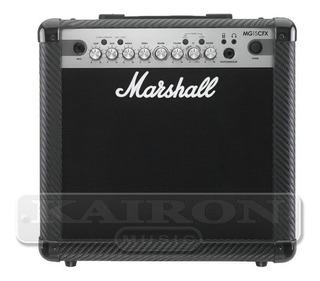Amplificador Para Guitarra Marshall Mg15 Cfx En Kairon Music
