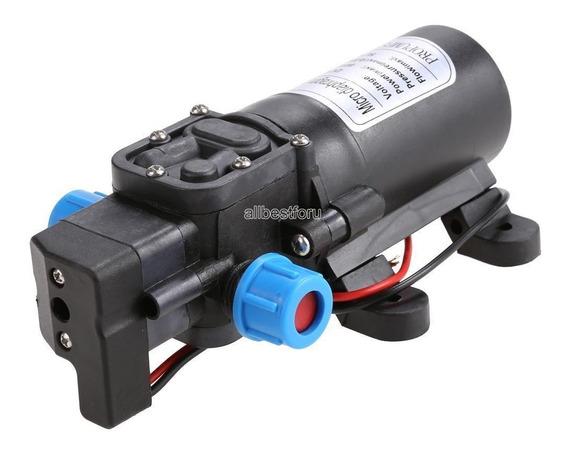 Bomba De Agua A Diafragma 60w 5l/min De Alta Presión Dc 12v