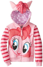 Sudadera Con Capucha Pinky Pie De My Little Pony Big Girls,