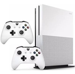 Consola Xbox One S 1tb Con 2 Controles, 2 Juegos, Nuevas