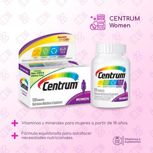 Centrum Mujer, Vitamina