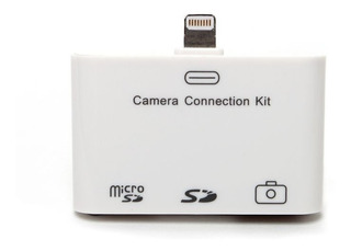 Kit Para Fotos Lector Memoria iPad 4 iPad Mini Microsd Sd