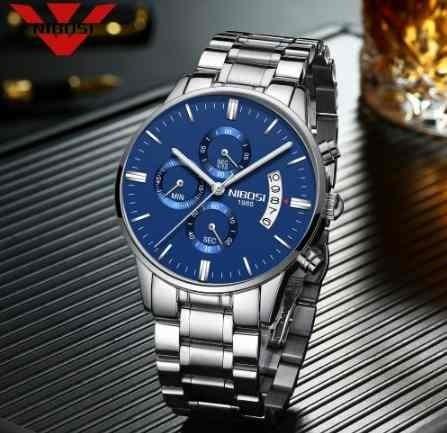 Relógio Masculino Funcional Resistente A Água 2309 Barato