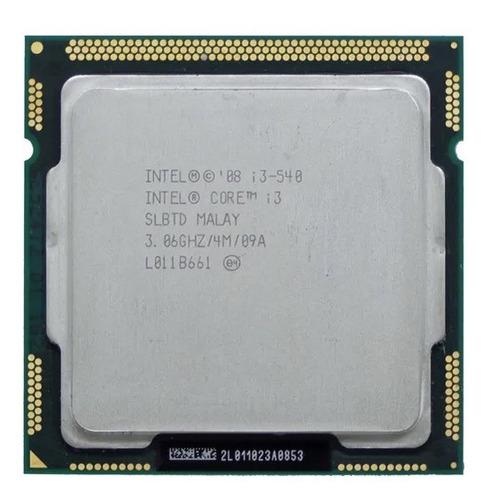 Processador Intel Core I3-540 3 Ghz Lga 1156 Sem Cooler