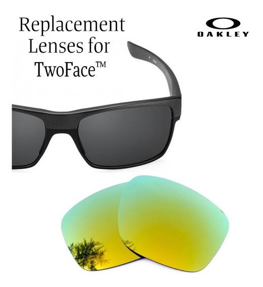 Micas De Reemplazo Para Oakley Twoface Color 24k