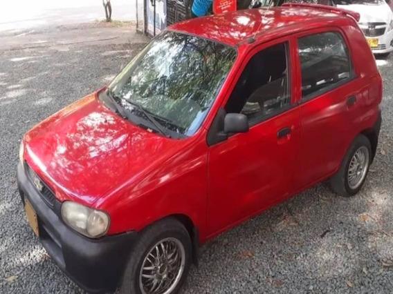 Chevrolet Alto Motor 1000 2001 Rojo 5 Puertas