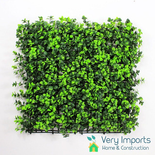Panel Verde Artificial Muro Verde Pvc 25x25cm