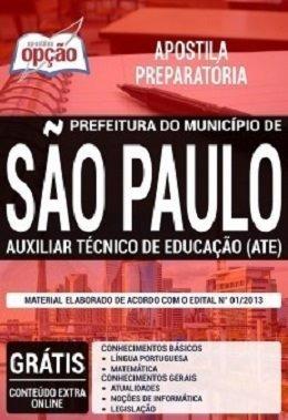 Apostila Preparatória Pref São Paulo 2019 - Aux Téc (ate)