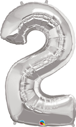Balão Metalizado Qualatex Número (escolher Número)