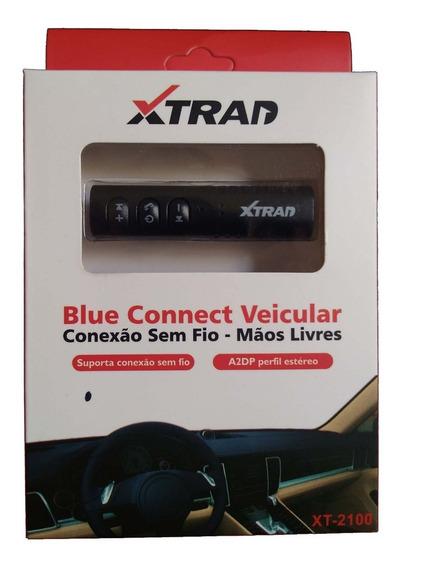 Receptor De Áudio Bluetooth Estéreo Para Carro, Fone E Cel