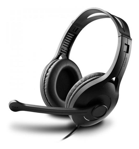 Fone De Ouvido Gamer Edifier K800 P3 Preto Com Microfone