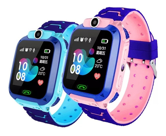 Relógio Q12 Gps Infantil Prova D