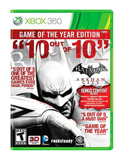 Batman Arkham City Game Of The Year Xbox 360 Nuevo