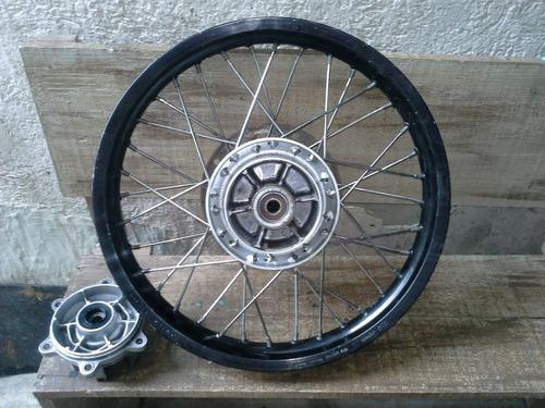 Imagem 1 de 10 de Roda Traseira Da Moto Honda Xre 300 Usada Original (aro 18)