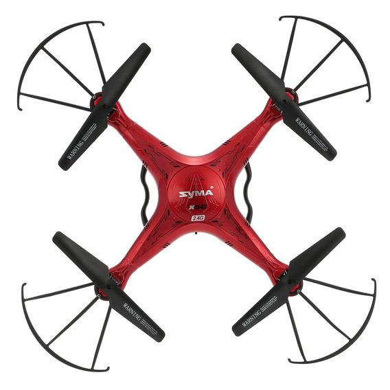 Drone Syma X5c Rtf Rc Quadricóptero - Red