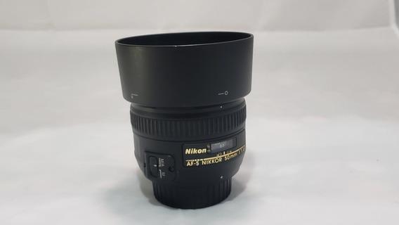 Lente Nikon Nikkor 50mm F 1.4 Af-s G