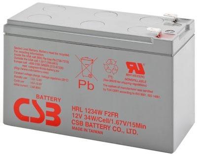 Bateria Nobreak Bike Eletrica Csb Hrl1234w 12v 9a Original