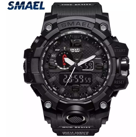 Relógio Smael Militar Shock Tático Prova D