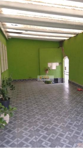 Sobrado Residencial À Venda, Jardim Bom Pastor, Santo André. - So1195