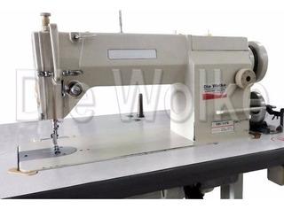 Máquina De Costura Reta Industrial+brindes+frete Gratis