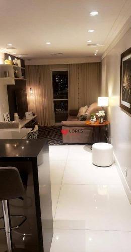 Imagem 1 de 27 de Apartamento Tatuapé - Varanda Gourmet - Ap3392
