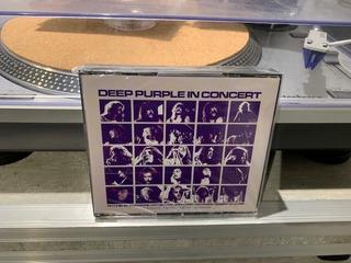 Deep Purple - In Concert - 2 Cds Fat Box Made In Uk