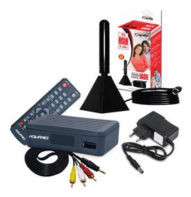 Conversor Gravador Digital Hd C/ Antena Interna