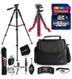 Kit Accesorios 32 Gb Nikon Coolpix B700 B500 A900 L840 L830