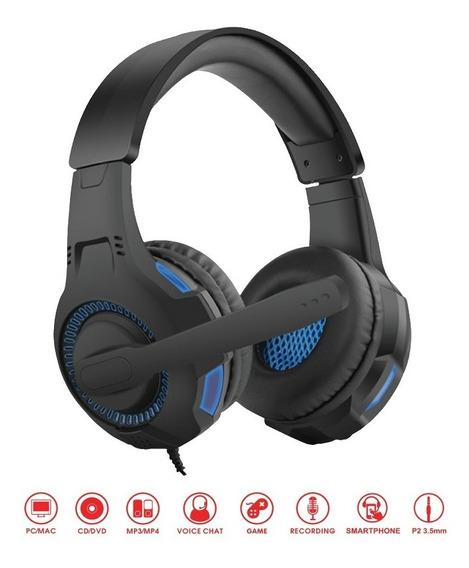Fone Ouvido Headset Gamer P2 Ps4 3.5mm X-box 0855